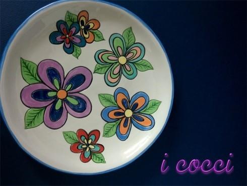 I corsi di ceramica de I Cocci a Napoli - Le decorazioni