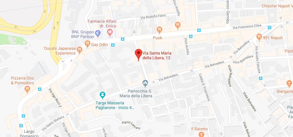 I Cocci Associazione Culturale - Laboratorio di Ceramica si trova in Via Santa Maria della Libera 13, Napoli, Vomero